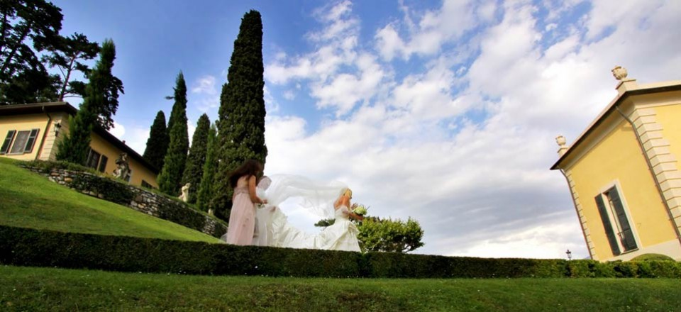 A stress-free wedding at Villa Balbianello
