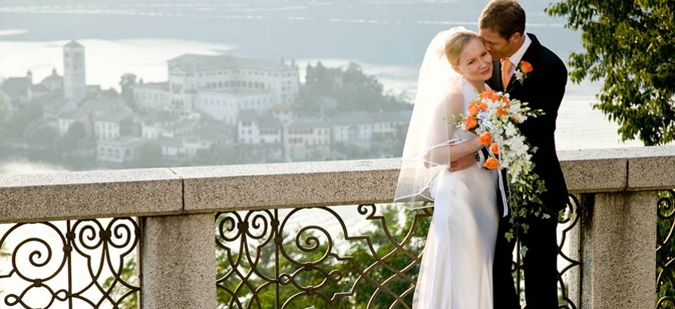 Elena and Peter, a Russian Orthodox Wedding on Lake Orta