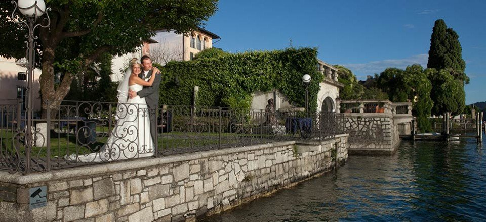 Charlotte and Steven, an unforgettable wedding day on Lake Orta