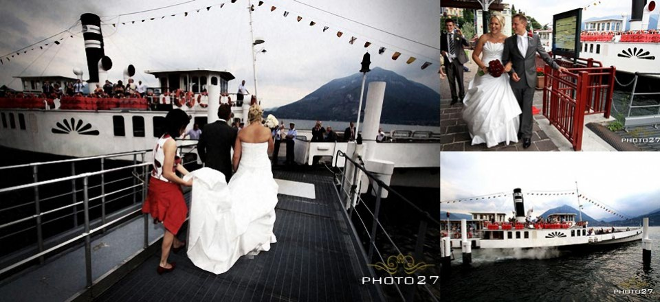 Light your Wedding Party on the Waters of Lake Como!