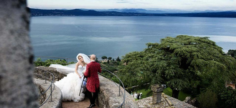 Wedding on Lake Bracciano