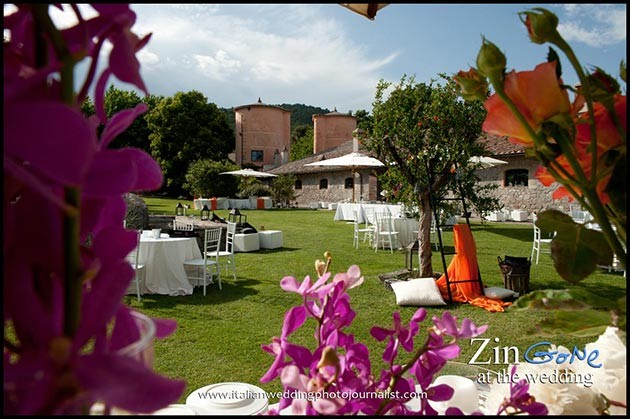 Wedding ceremony at Scuderie Odescalchi in Bracciano #2