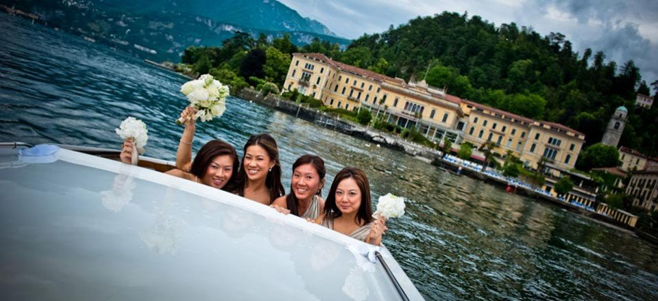 From Singapore to make a dream come true on lake Como