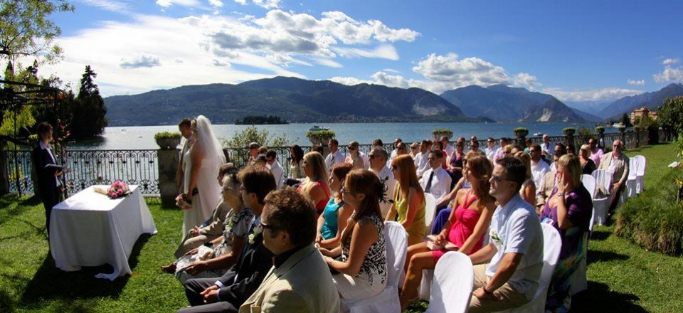 A sunny wedding on Lake Maggiore – Lisa and Darren