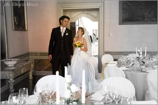 Palazzo Ubertini wedding reception venue in lake Orta