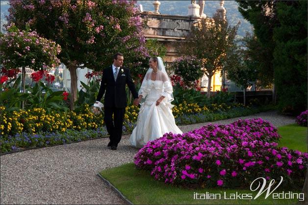 Isola madre wedding