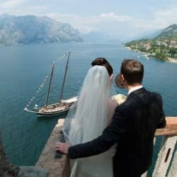 The magic atmosphere of lake Garda