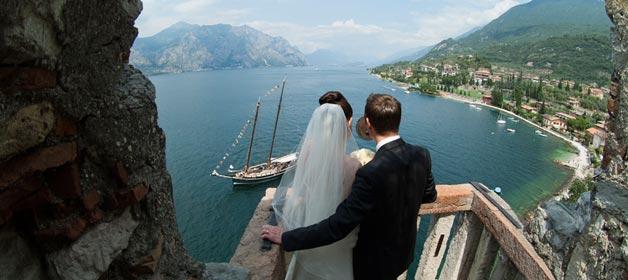 The magic atmosphere of lake Garda