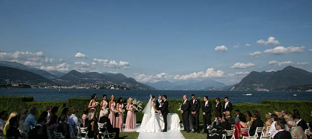 A Russian – Canadian Wedding in Stresa the pearl of Lake Maggiore