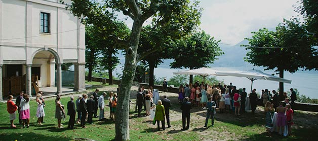 LakeView Weddings on Sacro Monte di Ghiffa
