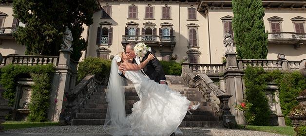 Civil Wedding Ceremony at Villa San Remigio