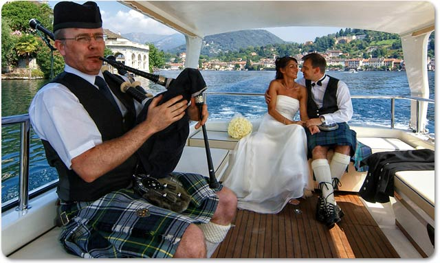 scottish weddings on lake orta italy