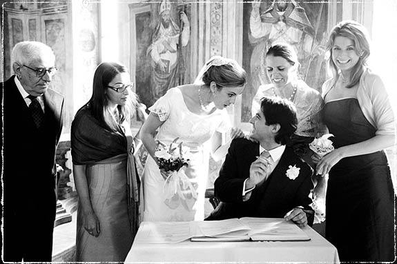 Villa Bossi wedding photographer