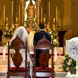 A perfect match for a religious wedding in Stresa