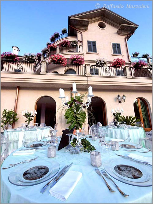 Villa for wedding reception on lake Orta