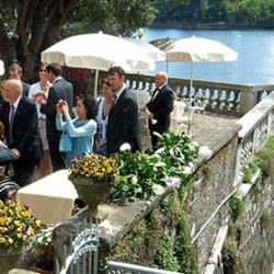 Spring wedding in Pallanza