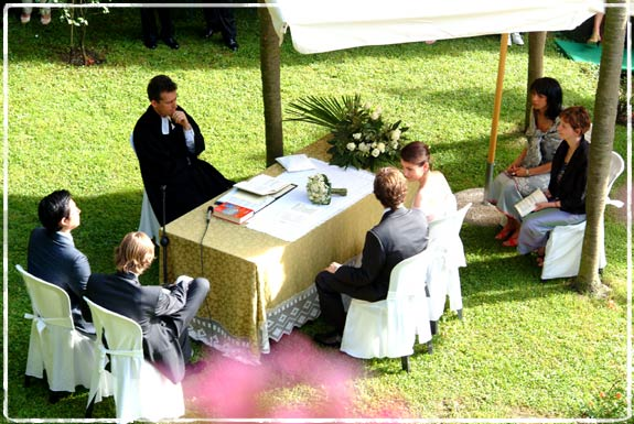 outdoorweddingceremony Your dream is to have your ceremony openair in