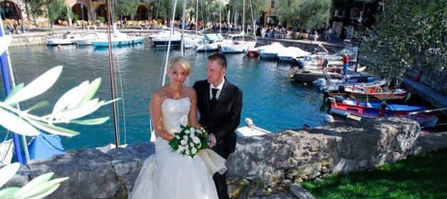 Torri del Benaco: not just a civil wedding!