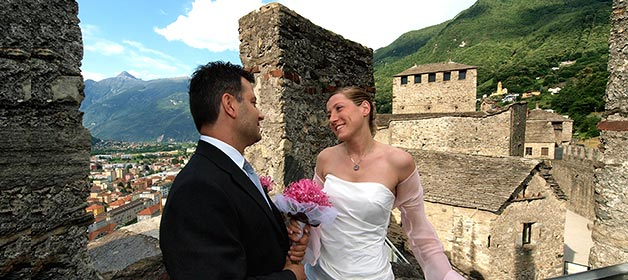 Country Wedding at Bellinzona Castles