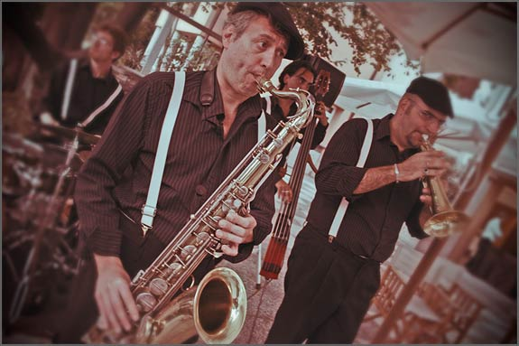Swing-band-wedding