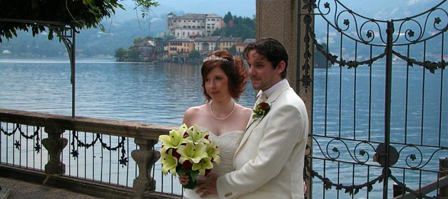 Summer Season Weddings in Orta, part 4: Maria & Chris