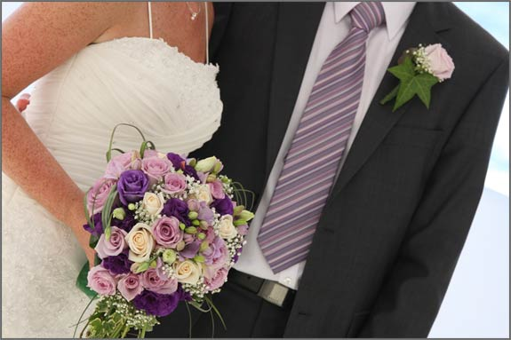 PurpleLilacBridalBouquet We can not forget about bridal bouquet