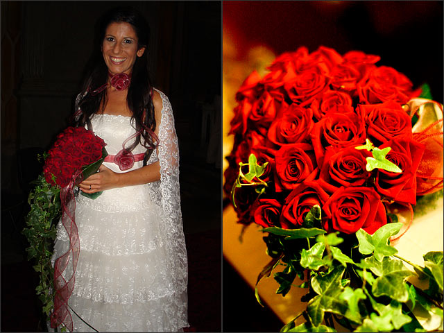 Cascade-Red-roses-bouquet