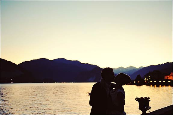 Romantic Wedding on Lake Maggiore