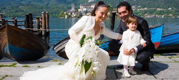 Wedding for 3 at Villa Bossi