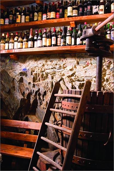 wines-cellar-Villa-Antica-Colonia-lake-Orta