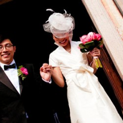 Varenna: a catholic wedding…asian style!