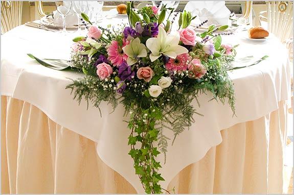 Table Centerpiece Villa Aminta Stresa