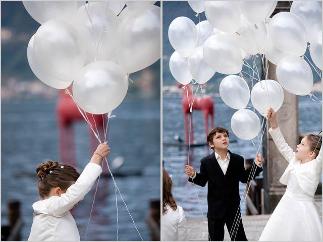 Wedding Decoration, Flowers, Ribbon Balloons, Wedding Decoration With Flowers Ribbon Balloons