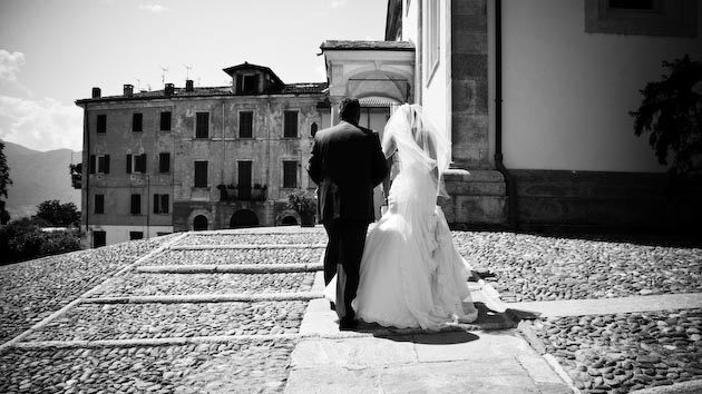 church wedding in Pallanza Italy