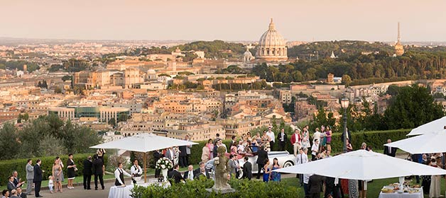 Rome and Lake Bracciano… a perfect match for your Italian wedding