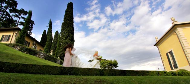 A stress-free wedding at Villa Balbianello: the Big Day
