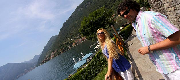 A stress-free wedding in Villa Balbianello: the day before
