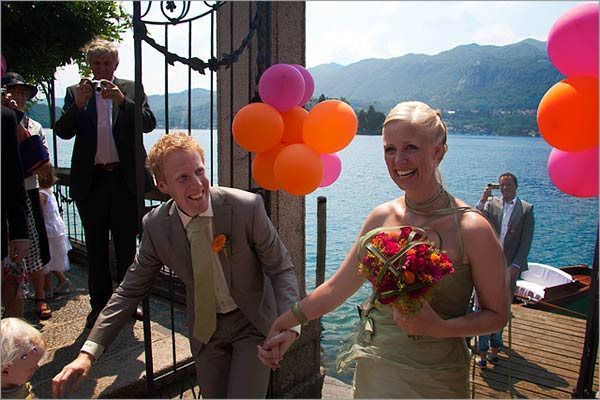 orangethemedweddinginItaly They had the opportunity to enjoy a