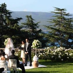 Natasha and Glenn Got Married Today on Lake Bracciano