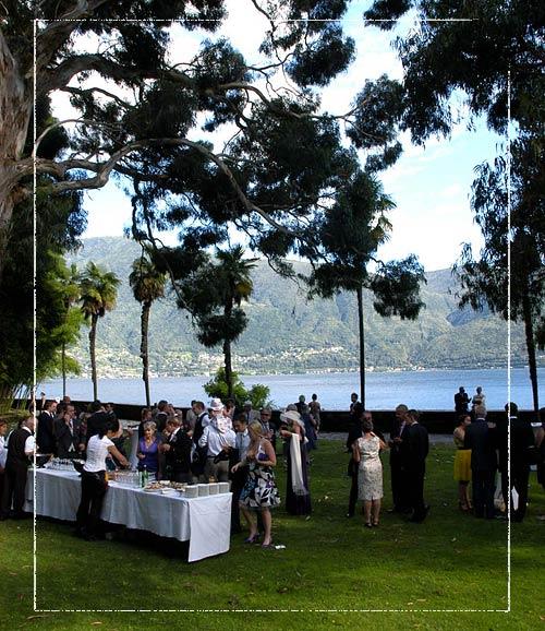 wedding-aperitif-Brissago-Island-restaurant