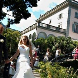 Fiona and Scott's wedding on Brissago Islands