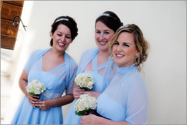 bridesmaids-light-blue-dress