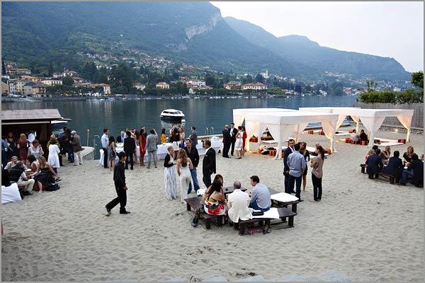 Beach Wedding Venue For Your Reception Party On Lake Como