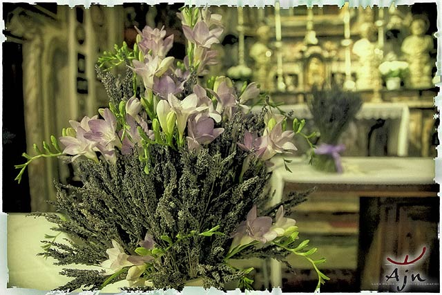 lavander-and-freesias-flower-arrangements