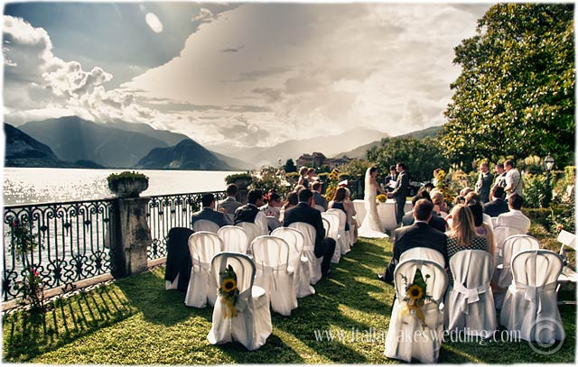 Where To Get Married In Italy: Yellow Themed Wedding In Italy