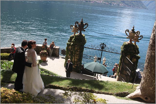wedding at Como lake and Villa del Balbianello
