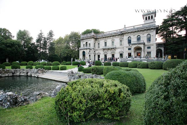 wedding in Villa Erba Cernobbio lake Como