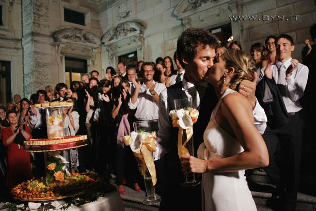 wedding reception to Villa Erba Cernobbio lake Como