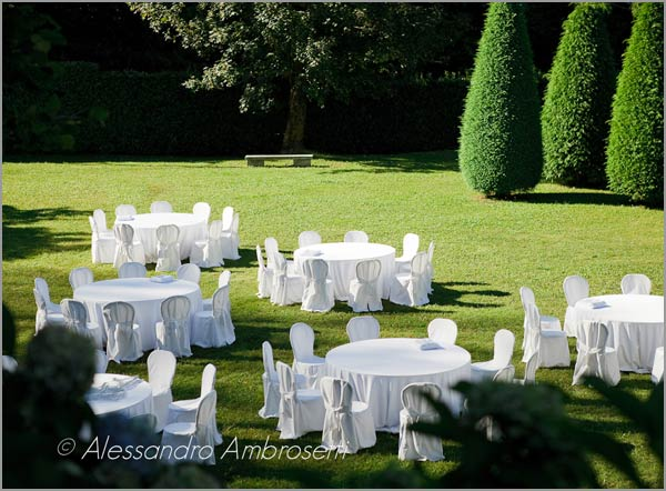open air wedding Lake Orta Italy