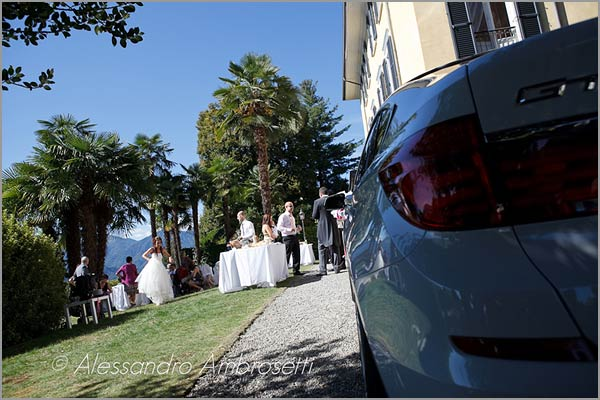 wedding venue Miasino castle Lake Orta